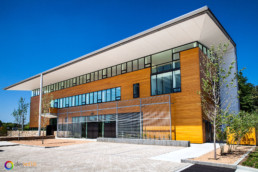 Architectural photography of AIA NC Center for Architecture and Design