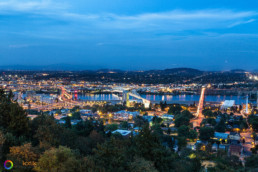 Portland, Oregon - view from the The Portland Aerial Tram