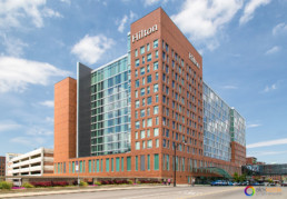 Architectural photography of HILTON COLUMBUS DOWNTOWN